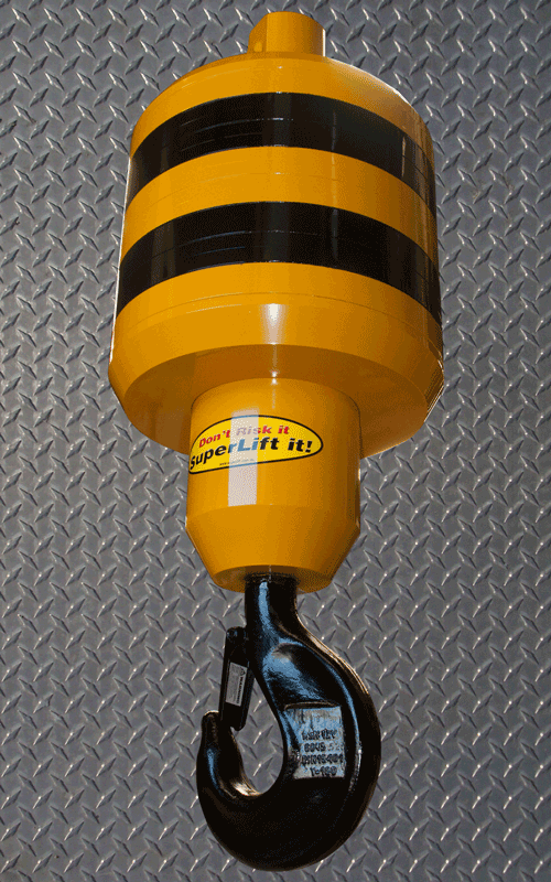 Specialized lifting solutions gallery superlift for Motorized rotating crane hook