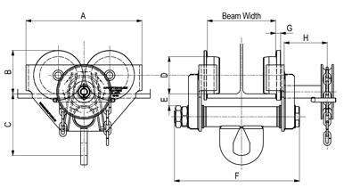 Girder-Trolley-Geared-Type-Schematic